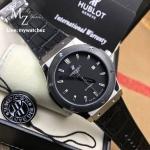 Hublot Classic Fusion - Black Ceramic/Leather