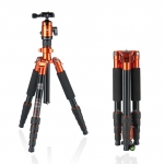 Fotopro X4ie Tripod with 42Q Ball Head (orange)