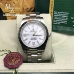 Rolex Explorer White Dial - Smooth Bezel