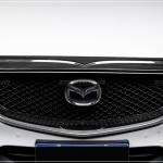 คิ้วกระจังหน้าบน Z-Spec สี Black Wood CX-5 2018