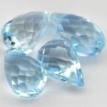 พลอยโทปาส (Skyblue Topaz) พลอยธรรมชาติแท้ น้ำหนัก 5.95 กะรัต