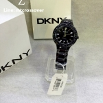 DKNY Black Ceramic Ladies Watch NY 8142