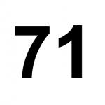 [C71] :: 71