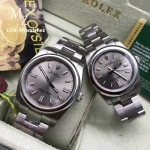 Rolex Oyster Perpetual Grey Stick Dial