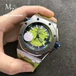 Audemars Piguet Royal Oak Offshore Diver Green Dial 15710 - 2017 Funcky Colours