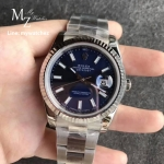 Rolex Datejust Blue Dial Stick Ref:126334 - Noob Factory
