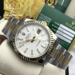Rolex Oyster Perpetual Datejust 41 two tone Basel 2017 - White Dial