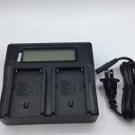 DUALBATTERY CHARGER FOR SONY NP-F Series