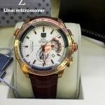 TAG HEUER Grand Carrera 36RS Caliper Chronograph Rose-Gold & White Dial