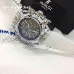 Hublot Big Bang UNICO Sapphire Case - White Strap