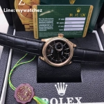 Rolex Cellini Date Ref:50515 - ฺฺBlack Dial Everose Gold