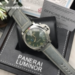 Panerai Luminor Marina 1950 3 days Automatic - Green Dial/Grey Strap