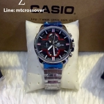 Casio Edifice EFR-543D-1A4V Black and Red