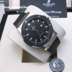 Hublot Classic Fusion - Black Silicone