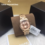 MICHAEL KORS Colette Rose Dial Rose Gold-plated Ladies Watch MK6071