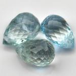 พลอยอะความาลีน (Aquamarine) พลอยธรรมชาติแท้ น้ำหนัก 4.25 กะรัต