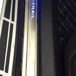คิ้วบันได X-TRAIL LED ไฟสีฟ้า