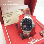 Omega Seamaster Diver 300M Co-Axial 41MM - Blue Dial