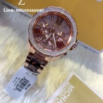 Michael Kors Watches Wren Chronograph Stainless Steel Watch - MK 6159