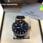 "IWC Big Pilot Watch Edition ""Le Petit Prince"" Midnight Blue Dial/IW500916 - Black Strap"