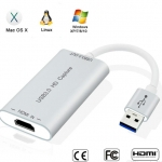HDMI to USB 3.0 HD Capture Card Device Dongle 1080P 60fps