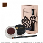 MEI LINDA MIRACLE MY BROW 3D GEL NO.2 : BLACK BROWN