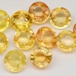 พลอยบุษราคัม (Yellow Sapphire) พลอยธรรมชาติแท้ น้ำหนัก 3.05 กะรัต