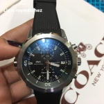 IWC Aquatimer Chronograph Expedition Charles Darwin Black Dial - IW37953