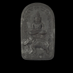 สมเด็จประทับช้าง หมายเลข 519 หลวงปู่ป่วน วัดอนุกุญชราราม(วัดช้างน้อย)