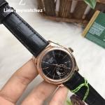 Rolex Cellini Dual Time Ref:50525 - ฺฺฺRose Gold Black Dial