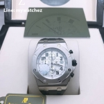 Audemars Piguet AP Royal Oak Offshore Chronograph White Dial - 26020ST