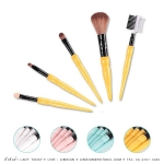 NEE CARA 5 PIECE CANDY BRUSH SET