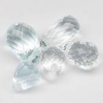 พลอยอะความาลีน (Aquamarine) พลอยธรรมชาติแท้ น้ำหนัก 3.8 กะรัต