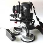Motorized zoom controller for DSLR lens with 12V power input for 15mm rail system