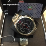 "TAG Grand Carrera ""Mercedes-Benz SLS"" Chronograph Stainless Red Dial"