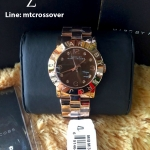 Marc by Marc Jacobs Amy Brown Dial Rose Gold Tone Womens Watch MBM3167