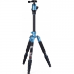 Fotopro X4ie Tripod with 42Q Ball Head (blue)