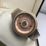 Versace Bronze V-Metal Icon Watch Rose Gold