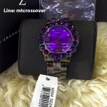 Marc Jacobs Amy Purple MBM3224 Women Watch