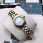 Tag Heuer Aquaracer Two Tone White Dial Watch - WAY1414.BA0920
