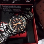 Luminox F-117 Nighthawk 6400 Series - Orange Dial