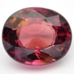 พลอยทัวร์มาลีน (Pink Toumaline) พลอยธรรมชาติแท้ น้ำหนัก 1.01 กะรัต