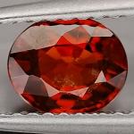 พลอยโกเมน(Spessartite Garnet) พลอยธรรมชาติแท้ น้ำหนัก 1.15 กะรัต