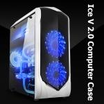 [PC Case] Ice V 2.0 PC ฝาข้างใส รมดำ (เคสขาว)