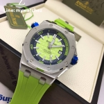 Audemars Piguet Royal Oak Offshore 15710 ST - Green Dial