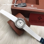 Patek Philippe Aquanaut Luce 5067A-011 - Diamonds White Strap