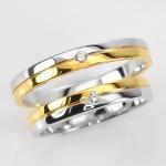 แหวน2กษัตร ประดับเพชรแท้
