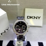 DKNY Women's NY4983 Black Ceramic Quartz Watch with Black Dial