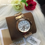 Michael Kors Women's MK5223 Jet Set Chronograph Watch Rose-Gold