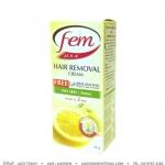 FEM HAIR REMOVING CREAM : กลิ่นเลมอน